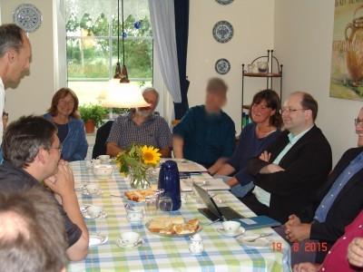 Christian Meyer zu Besuch beim Uelkenhof